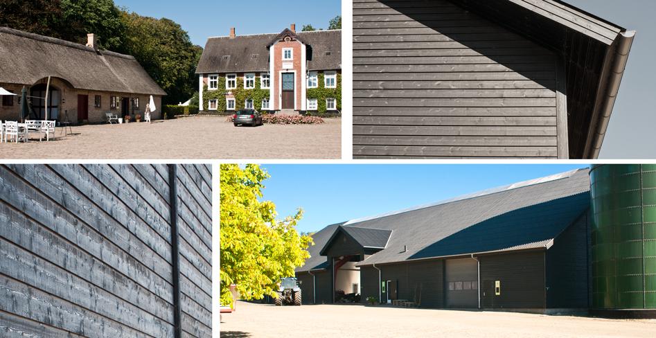 Bjeragerhougård, Fru Møllers Mølleri, Landbrugsbygninger